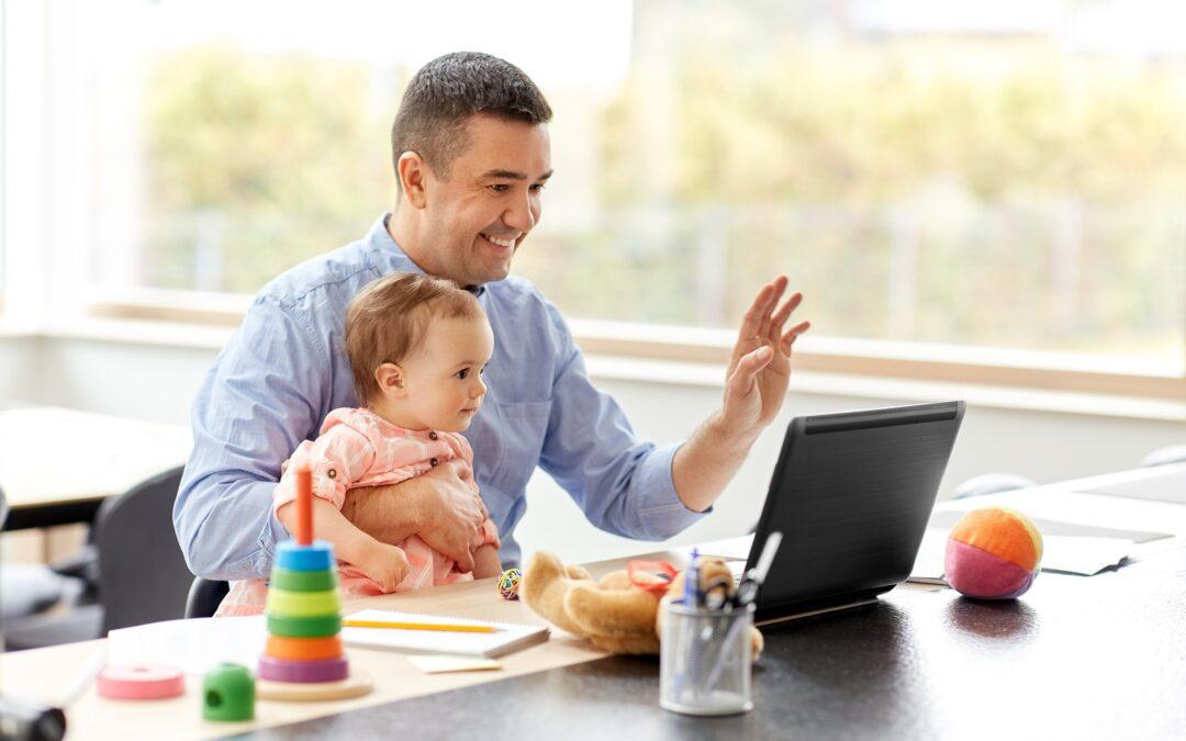 Being present in school during parental leave